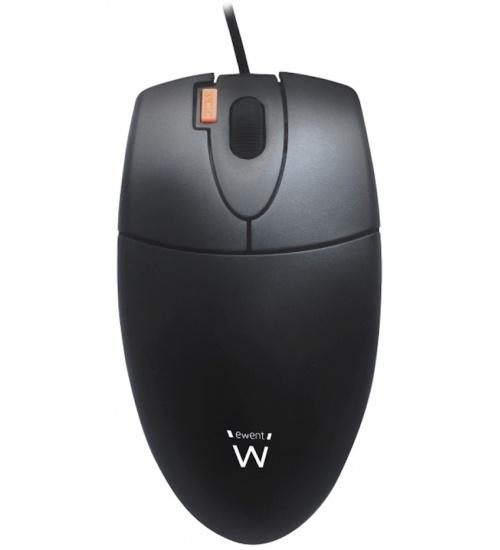Mouse ottico 1000dpi usb/ps2 black