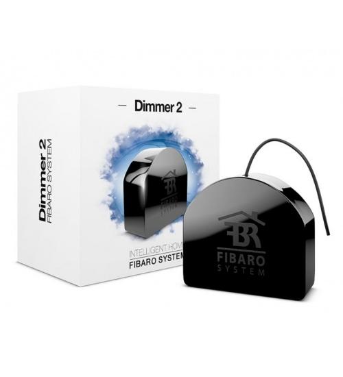 Modulo dimmer2 fibaro 250w z-wave per regolazione luci dimmerabili