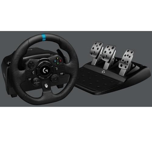 Logitech g923 trueforce volante da corsa per simulazioni  x ps4