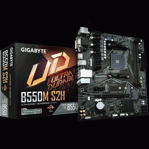 Scheda Madre gigabyte ga-b550m-s2h m.atx amd am4