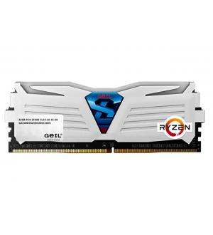 Geil 16gb(8gbx2) pc4-19200 2400mhz super luce white 16-16-16-36