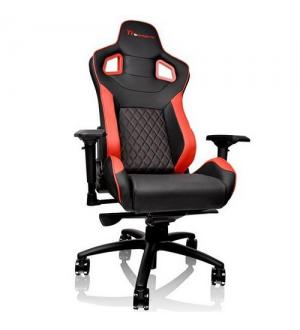 Thermaltake ttesports sedie gaming gtf fit nera/rossa
