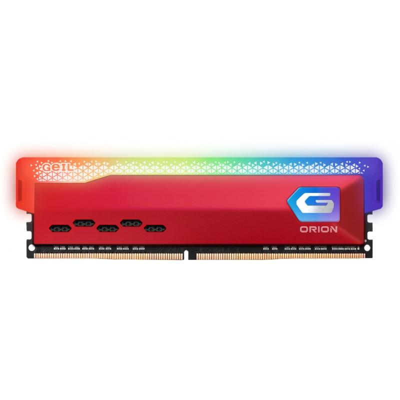 Geil 16gb(8gbx2) pc4 3200mhz orion rgb heatsink system 16-20-20-40