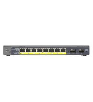 Switch 8p gigabit +2slot per gigabi t sfp