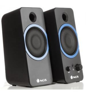 Ngs speaker gsx-200 stereo da gioco super bassi potenza 20w ean 84354306090