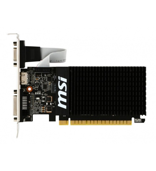 Scheda video msi nvidia gt 710 1gd3h lp 1gb ddr3 hdmi/vga/dvi