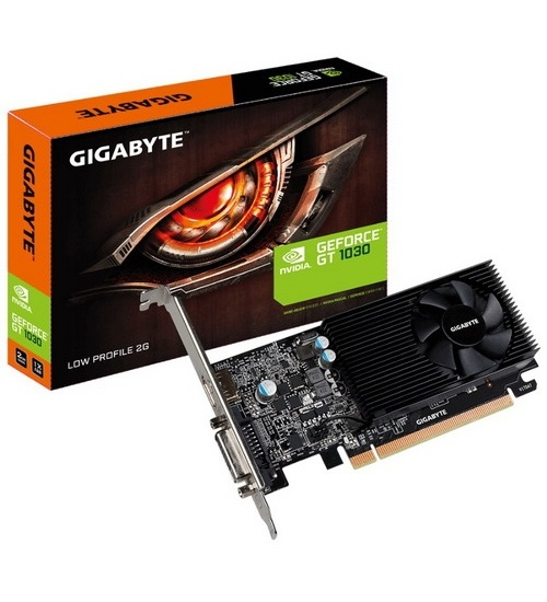 Scheda video gigabyte gt 1030 low profile 2g gv-n1030d5-2gl