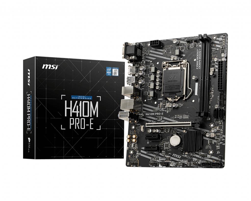 Msi h410m pro-e m-atx 1200