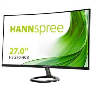Hanns-g hs270hcwr 27`` nero curved u.slim led 1920*1080 hdmi vga stereo