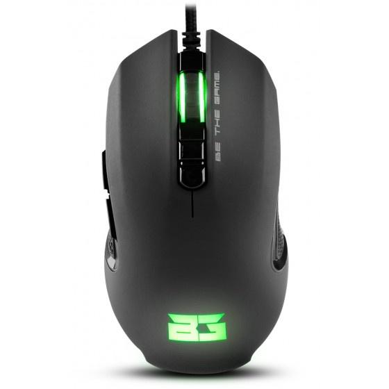 Nox hunter bgh mouse ottico 3200 dpi black