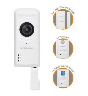 Edimax kit smart home connect per una casa smart protetta