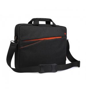Borsa notebook 15.6`` nera-arancio