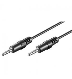 Cavo audio stereo jack 3.5 mm m/m 0,6m