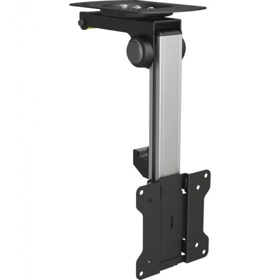 Inline supporto monitor / tv da armadio, staffa con braccio ripiegabile per lcd-/led- display 68cm (27), portata 20kg