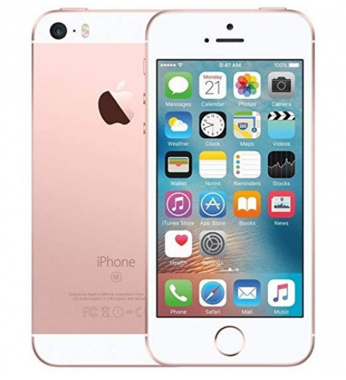 Iphone se 128gb ricondiz. rose gold grado a - garanzia 1y/ 3 mesi batt