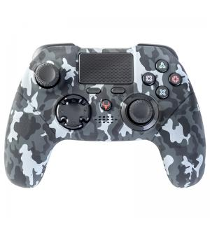 Controller procon one - bluetooth, pc, ps4, dualshock, tasti progr, touchpad axis6, camo