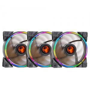 Kit taurus t-ring argb - 3x ventole t-ring, 1x controller, 1x cavo sync argb