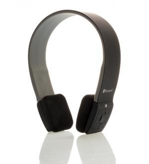 Itek cuffie stereo bluetooth 4.0 con microfono - nero grigio