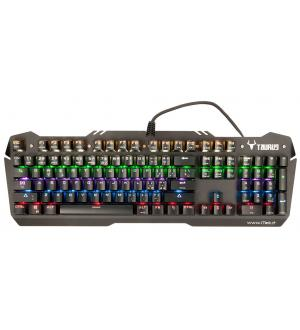 Tastiera gaming itek taurus x06 - meccanica con tecnologia ciy,  switch blu, retroilluminazione multicolor,  tasti macro