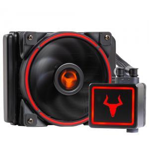 Dissipatore a liquido taurus tlc-120 red -  120mm, skt universale, pwm, led rosso