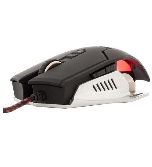 Itek gaming mouse taurus g78 3500dpi sw per macr retroilluminato ergonomico
