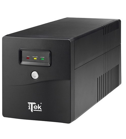 Itek ups walkpower 1000 - 1000va/600w, line interactive, led, 4xschuko, avr