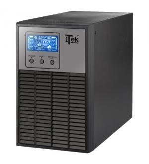 Itek ups winpower 1000 - 1000va/800w, on line, 2 batt,lcd,3*shucko,avr,rs23