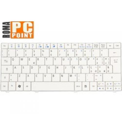 Tastiera netbook acer aspire one 751h 752 timeline 1810t 1410 (bianca)
