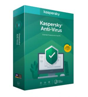 Kaspersky lab anti-virus 2020 licenza base 1 anno