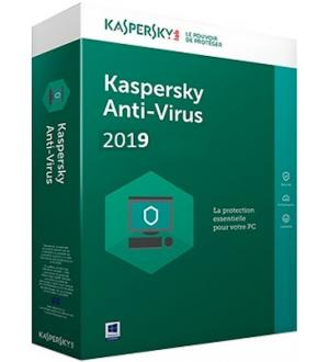 Kaspersky 2019 antivirus full 1pc 1 anno box