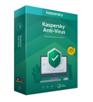 Licenza kaspersky lab anti-virus 2020 base 1 anno 3 dispositivi