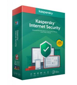 Internet security 1utente 1year attac 2020 kaspersky