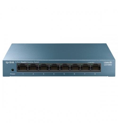 Switch tp-link 8p gigabit rj45 desktop