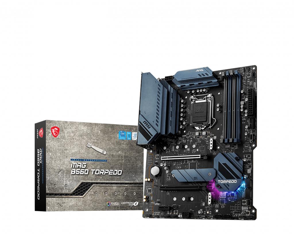 MSI MAG B560 TORPEDO scheda madre Intel B560 LGA 1200 ATX