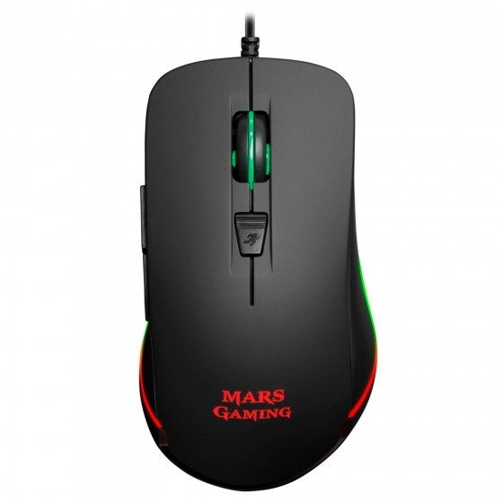 Mars gaming mm118 gaming mouse rgb a 9800dpi