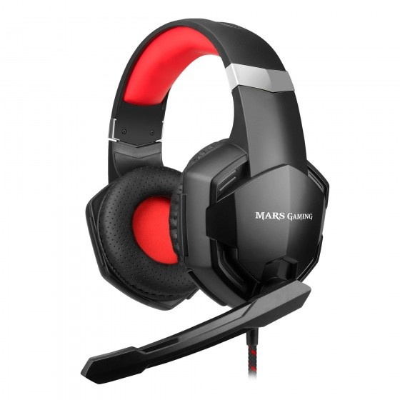 Mars gaming mhx headset cuffie gaming superbass 50mm