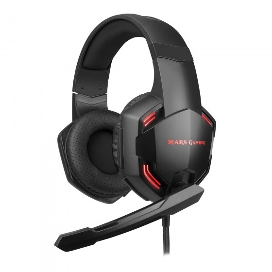 Mars gaming mhxpro71 headset cuffie gaming 7.1 superbass 50mm