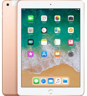 Tablet ipad 128gb cell gold 2018
