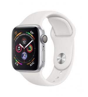 Watch4 40mm gps alluminio argento cint. sport white