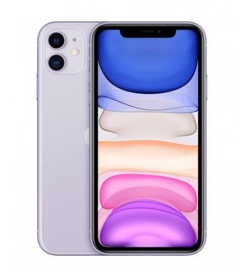 Iphone 11 128gb purple 6.1 (con alimentatore e cuffie)