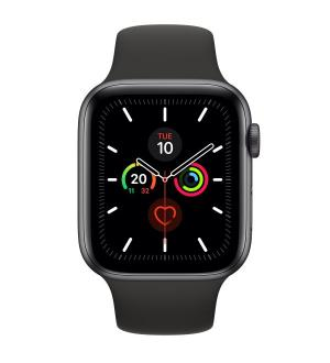 Watch 5 44mm gps+cell spacegrey alm black sport band