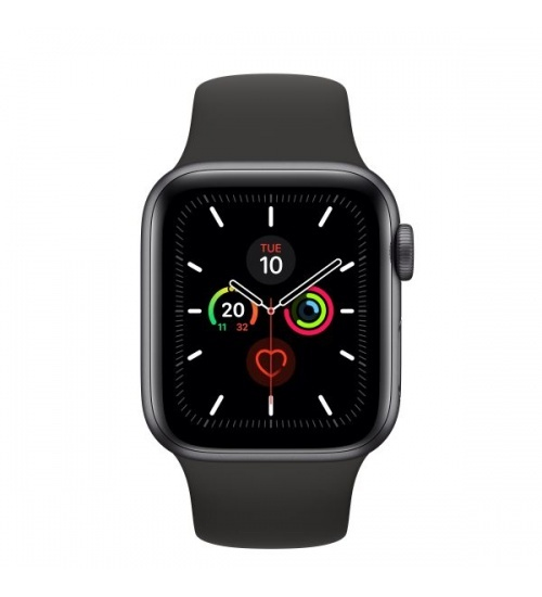 Watch 5 40mm gps+cell spacegrey alm black sport band