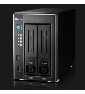 Thecus nas pmi - tower 2bay con 4k playback n3150 q.core