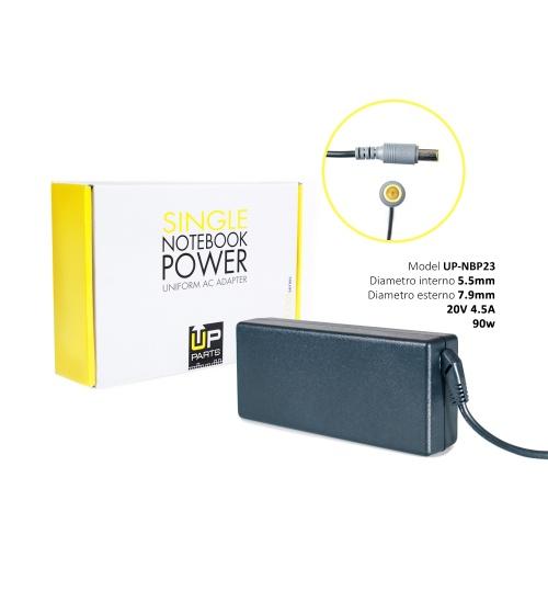 Alimentatore 90w ac adapter comp lenovo 20.0v 4,5a tip 8/5,5 mm