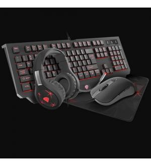 Genesis  gaming combo set cobalt 300 tast+mouse+cuffie+pad