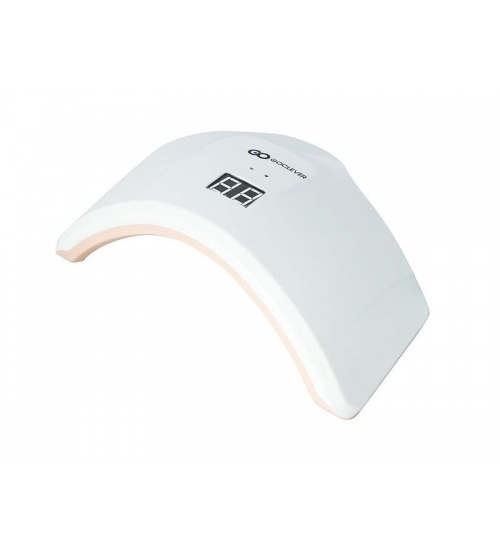 Manicure goclever nail lamp 24w white-pink
