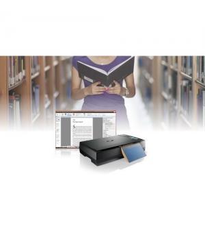 Scanner plustek optic book ob3800l ccd/led, 1200dpi, usb 2, 7sec, mac supp.