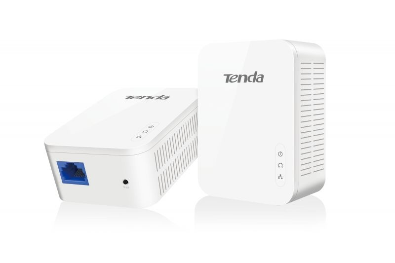 Powerline av1000 kit 2pz 1000mbps 1p gigabit tecnologia homeplug av2