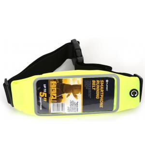Cintura custodia per smartphone running bag green