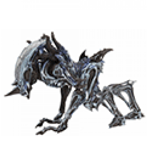Action figure alien : ultimate rhino alien (kenner tribute)